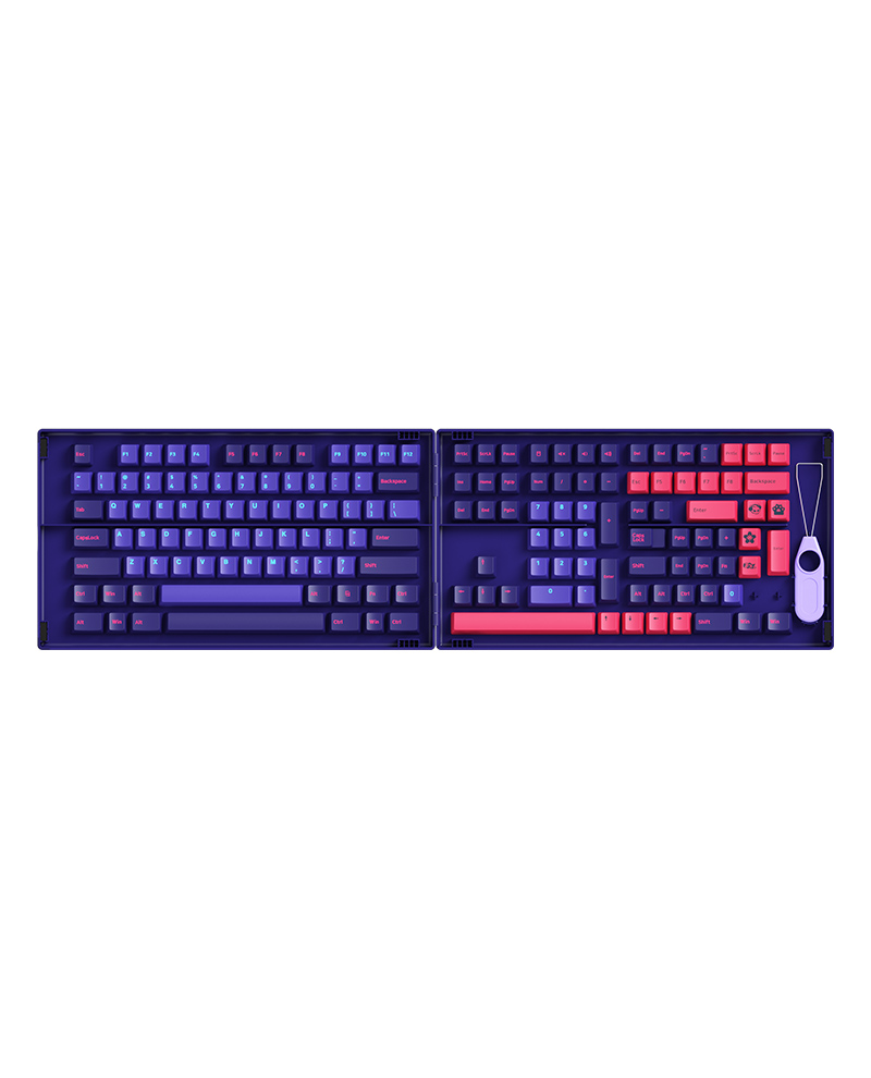 Keycap-akko-neon-cherry-profile-beegaming-01